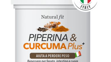 Photo of Piperina e Curcuma Plus per Dimagrire velocemente in modo Naturale