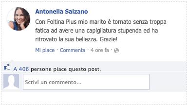 Recensioni Facebook Foltina Plus