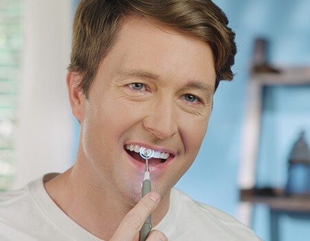denta pulse per la pulizia dei denti fai da te