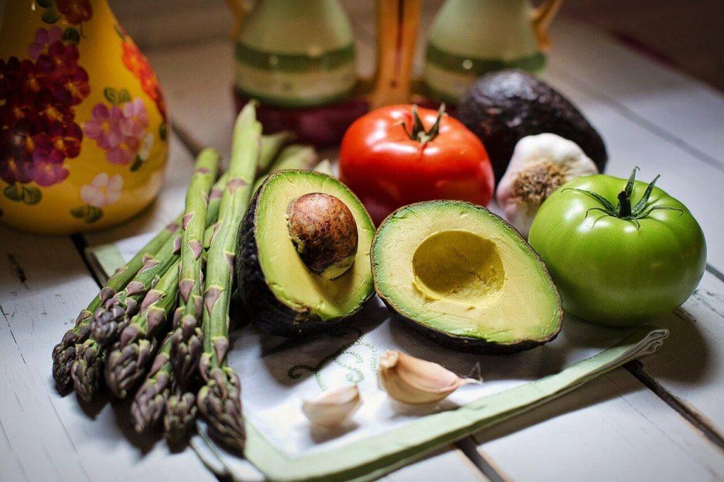 avocado e verdure