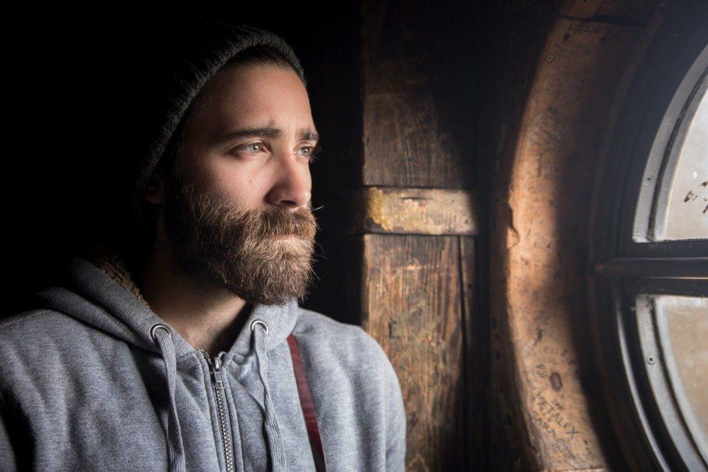 barba folta uomo