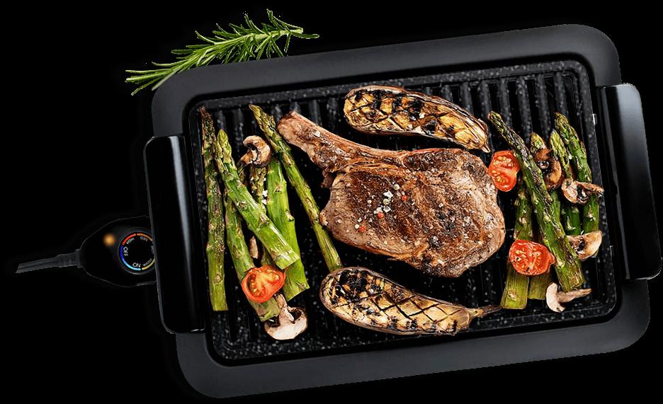 griglia barbecue senza fumo