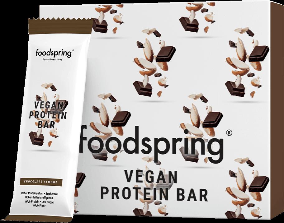 barrette vegane proteiche foodspring