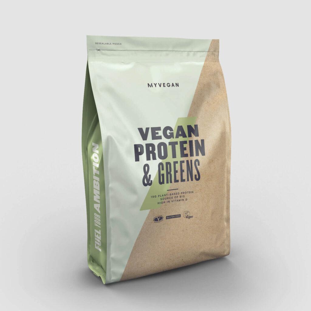 proteine vegan con verdure
