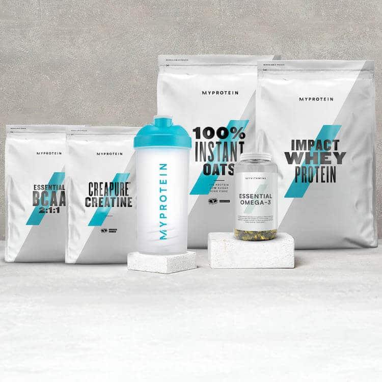 pacchetto massa base myprotein