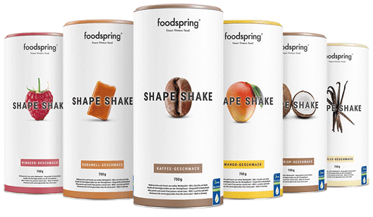 shape shake foodspring